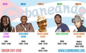 saison 2017-2018 Cubaneando