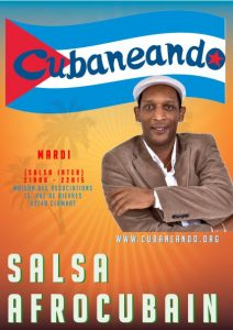Salsa Avancé (cours) 200102 @ Maison des Associations