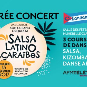 Soirée Salsa pour le Téléthon Edition 2 à Clamart