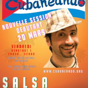 Vendredi 20 Mars : nouvelle session SALSA DÉBUTANT